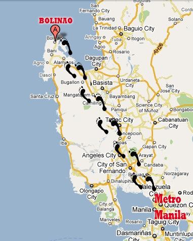 Travel Tips How to get to Bolinao Pangasinan Pangasinan