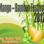 Mango-Bamboo Festival 2012 Calendar of Event
