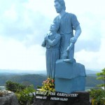 Statue of SAINT JOSEPH, THE CARPENTER in Hundred Islands National Park