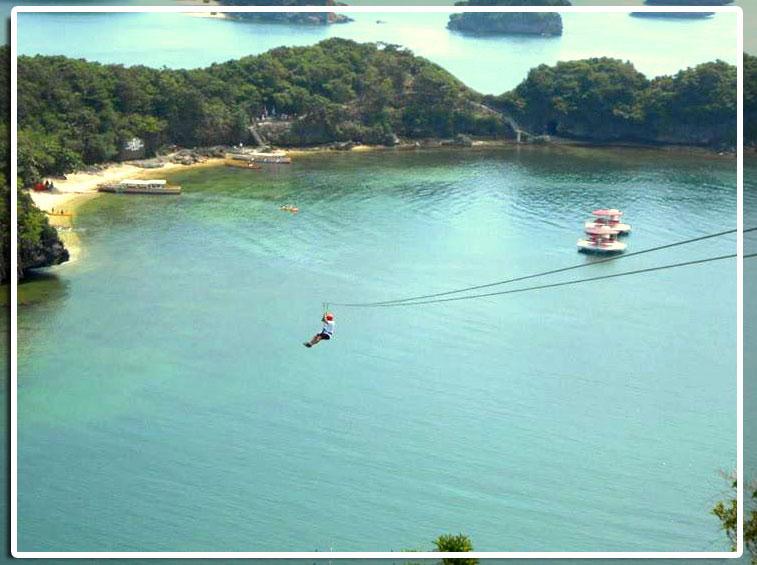 Zipline, Rock Climbing & Rappelling in Hundred Islands