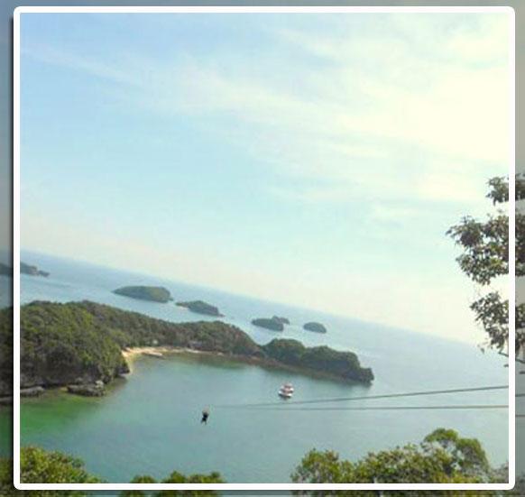 Zipline-in-hundred-island