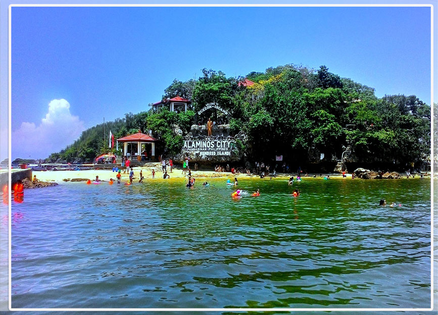 Water Activities at the Hundred Islands