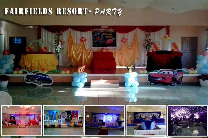 Fairfields Resort  Wedding Packages