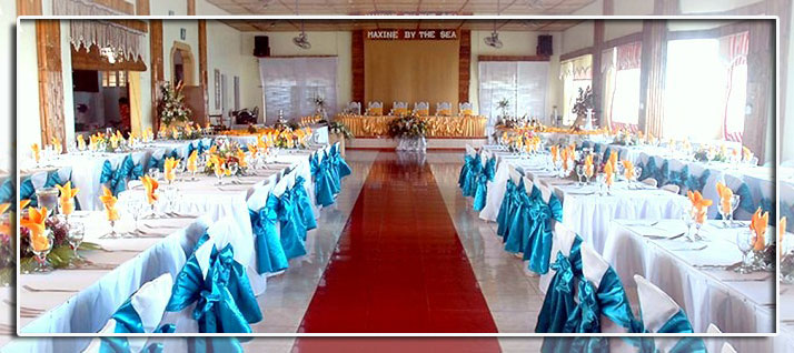 Maxine By The Sea Lodge Restaurant Wedding Packages