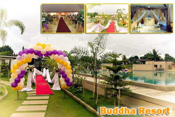 Buddha Resort Wedding Packages and Rates