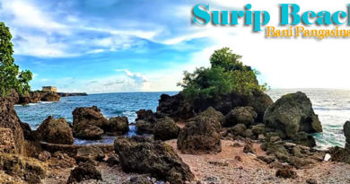 Surip Beach in Bani Pangasinan